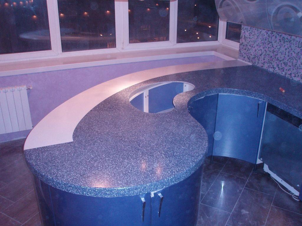 Столешницы из искусственного камень в домашних условиях