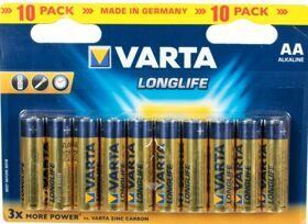 Батарейки Varta AAA 1.5V High Energy