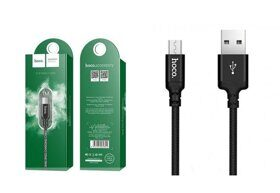 Кабель HOCO X14 Times Speed Micro-USB (L=1M), Black